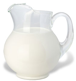 Pitcher of Milk shadow