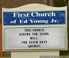Ed young sex seven days